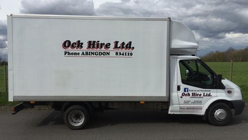 Oak Hire Abingdon Luton Transit Van